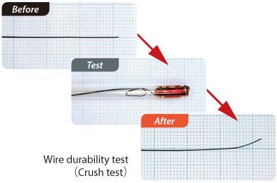 Wire durability test(Crush test)